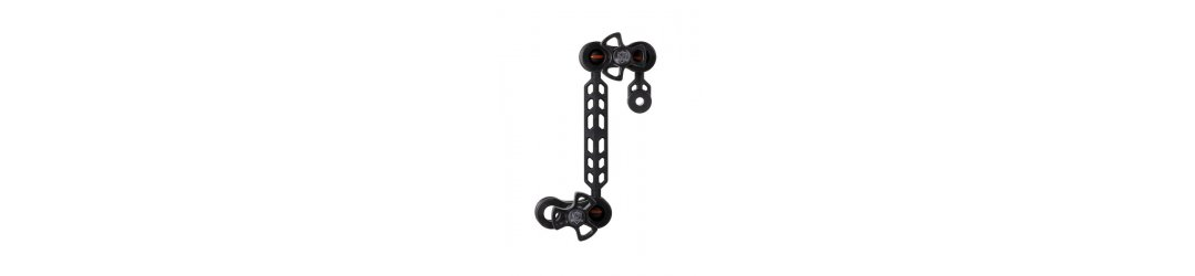 Plastic Carbon YS-mount to 1-inch ball