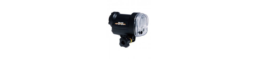 Underwater Camera Tray Package with Double Sea & Sea YS-01 Strobe and Fiber-Optic Cable