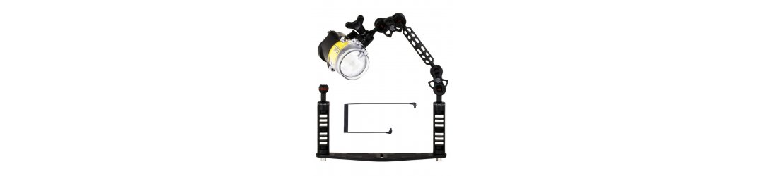 Underwater Tray for Camera Housing Package with Sea&Sea YS-D2J Strobe