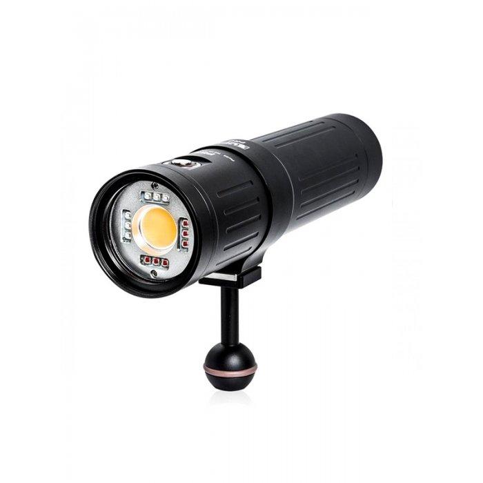 illuminatore subacqueo Supe p53 - lampada 5000 lumen cri 96 (video-focus-flash)