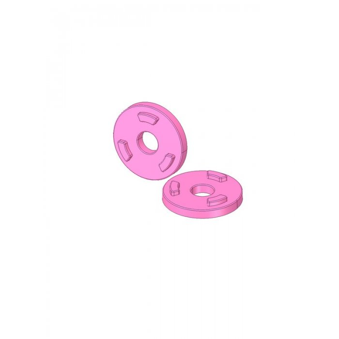 Anti-Rotation Washers Color Pink