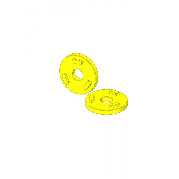 4 x Paliers de but/ée en pTFE avec filetage m8 gleitfl/äche /ø 22 mm celtic bague t/éflon patins patins de chaise