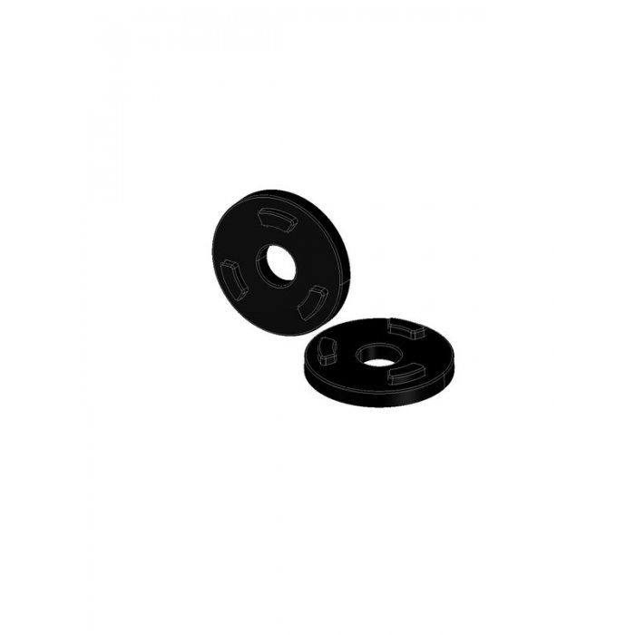 Anti-Rotation Washers Color Black