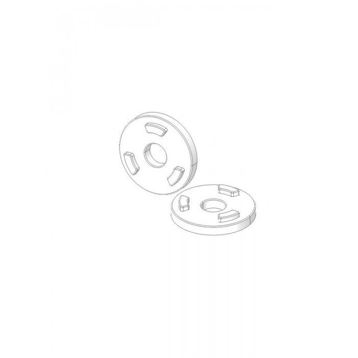 Anti-Rotation Washers Color White