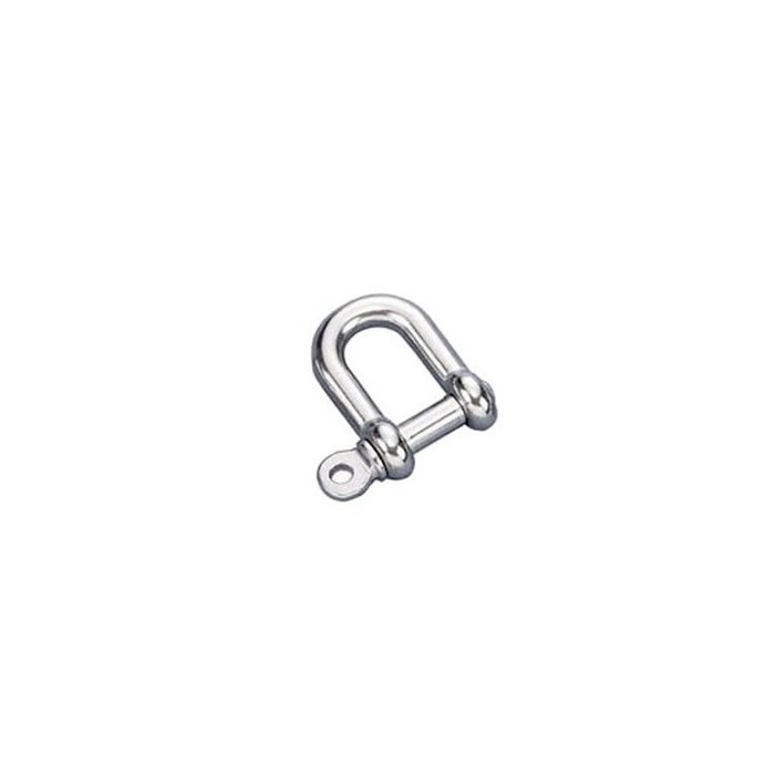 Stainless D Shackle 4mm A4-AISI 316