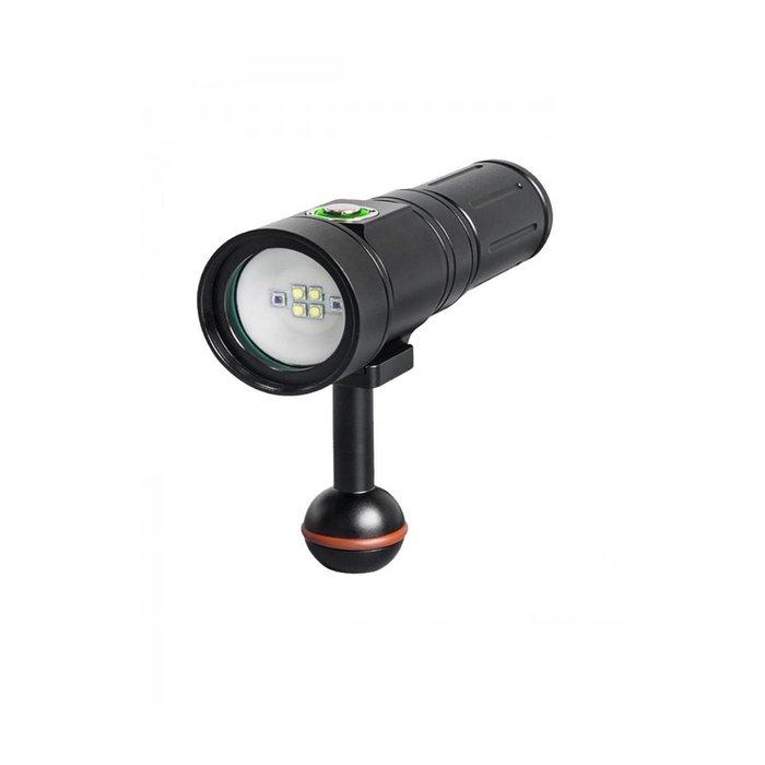 Illuminatore Subacqueo Scubalamp PV22 2000 Lumen Video