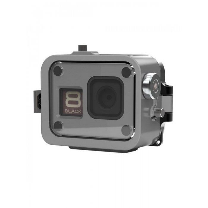 Caisson Alu pour GoPro Hero 8 250 Mètres