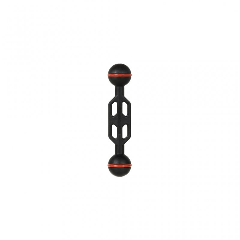 Plastic Carbon Arm with Double 1-Inch Ball Length 12 cm