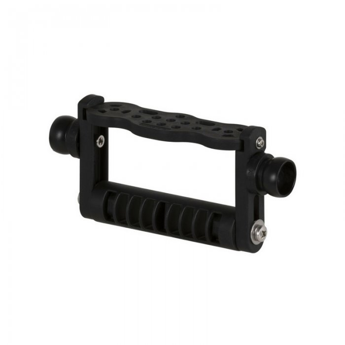 Goodman Handle With 3/4 Flex Arm Base With GoPro Mount Adapter