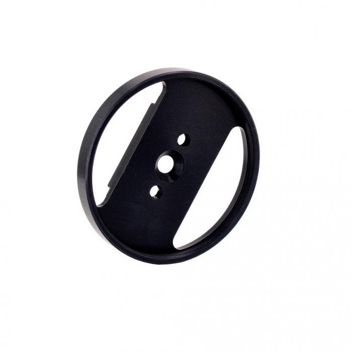 Supporto Lenti Filetto M67 per Bracci Plastic Carbon