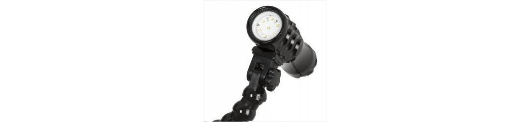 Flex Arm with Ys Adapter for Lights Base with M8 Female Threaded 35 cm