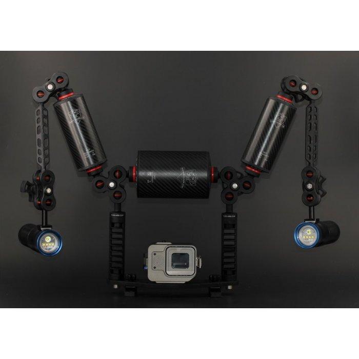 T-Housing Power Underwater Housing for GoPro Hero 5 - 6 - 7