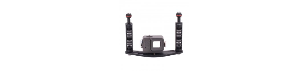 Pack Underwater Tray with T-Housing for GoPro Hero 5 - 6 - 7