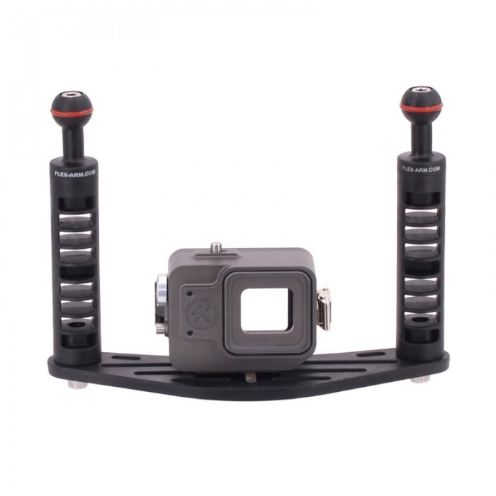 Pack Pletina y Carcasa Submarina T-Housing para GoPro Hero 5 - 6 y 7
