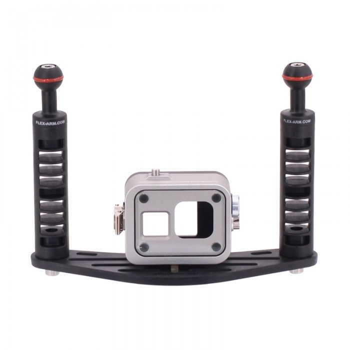 Pack Pletina y Carcasa Submarina T-Housing para GoPro Hero 8 250 Meters