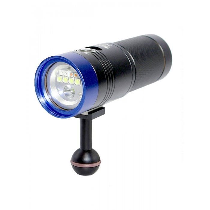 UNDERWATER TRAY PACKAGE WITH SEA AND SEA YS-01 STROBE AND SCUBALAMP PV32T PHOTO VIDEO 3000 LUMEN