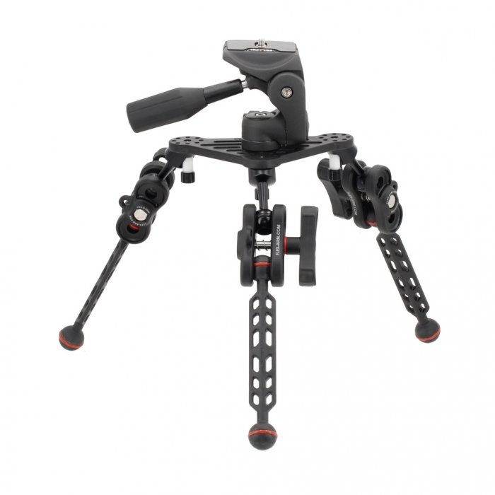 Underwater Tripod with Inon UW 3-Way Panhead