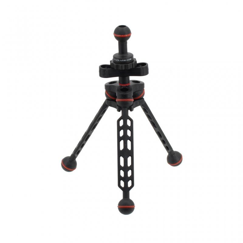 Underwater Easy Tripod 18 with 1-Inch Ball