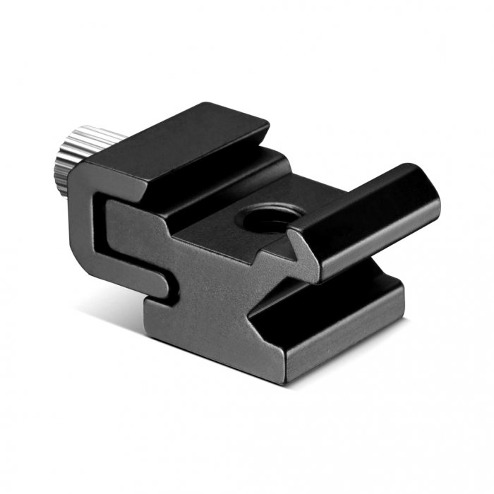 Cold Shoe Flash Stand Adapter with 1/4-inch -20 Tripod Screw