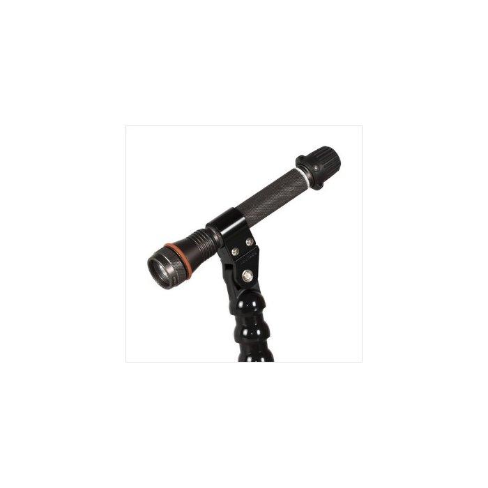 Handle with Flex Arm YS-Mount and M8 Female Thread Length 58 cm