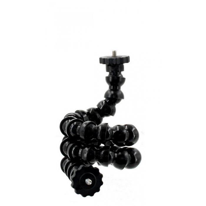 1/2 Bras Flexible Articulé Double Filet 1/4 Mâle avec Rondelle Frein Photographique Long 68 cm