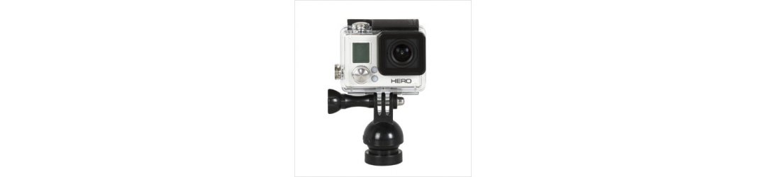 Handle M8 Female Thread with Flex Arm and Action Camera Mount for gopro Length 31 cm
