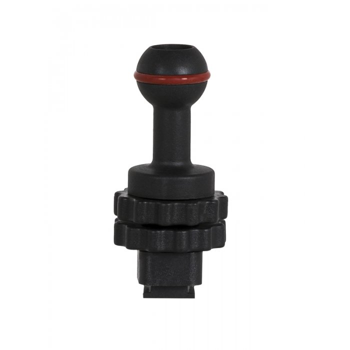 Cold Shoe with 1-Inch ball Mount
