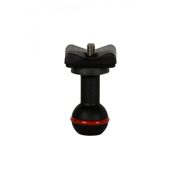 1-Inch Ball Mount Adapter for Lights With M6 Screw